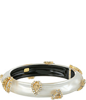 Alexis Bittar - Crystal Studded Liquid Silk Hinge Bracelet