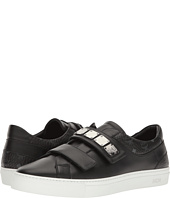 MCM - Low Top Sneaker w/ Brass Plate Detail