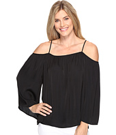 Vince Camuto - Long Sleeve Cold-Shoulder Rumple Blouse