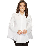Vince Camuto - Bell Sleeve Button Down Collared Shirt