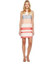 Vince Camuto - Sleeveless Veranda Stripe Shift Dress