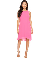 Vince Camuto - Sleeveless Chiffon Overlay Dress