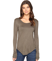 Culture Phit - Fifine Round Neck Long Sleeve Top