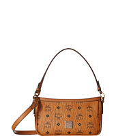 MCM - Gold Visetos Shoulder/Crossbody