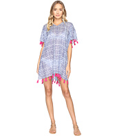 Hat Attack - Tassel Cover-Up Blurry Stripe