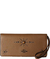 COACH - Western Rivets Slim Wallet