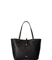 COACH - Polished Pebbled Leather Market Tote