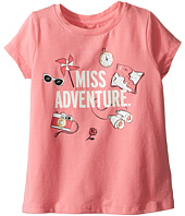 Kate Spade New York Kids - Miss Adventure Tee (Toddler/Little Kids)