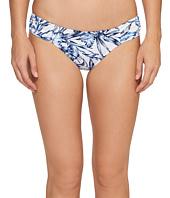 Tommy Bahama - Sketchbook Blossoms Side-Shirred Hipster Bikini Bottom