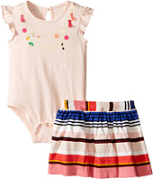 Kate Spade New York Kids - How Charming Skirt Set (Infant)