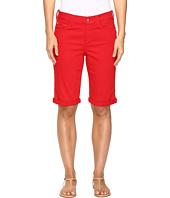NYDJ - Briella Roll Cuff Shorts in Sweet Strawberry