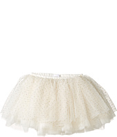 Mud Pie - Ivory and Gold Mesh Tutu (Infant/Toddler)