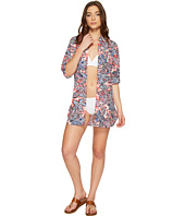 Tommy Bahama - Java Blossom Boyfriend Shirt Cover-Up