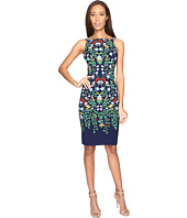 Adrianna Papell - Printed Nouveau Blooms Sheath Dress