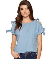 kensie - Lightweight Chambray Top KS5U4108