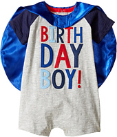 Mud Pie - Birthday Boy Cape One-Piece (Infant)