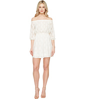 Rebecca Taylor - Off the Shoulder Selina Embroidery Dress