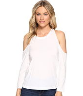 Splendid - Very Light Jersey Cold Shoulder Tee