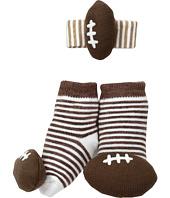 Mud Pie - Football Wrist Rattle Sock Set (Infant)