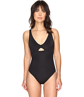 LAUREN Ralph Lauren - Modern Solid Cut Mio One-Piece