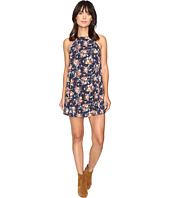 Brigitte Bailey - Spring Bouquets Printed Sleeveless Swing Dress