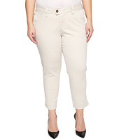 Jag Jeans Plus Size - Plus Size Creston Ankle Crop in Bay Twill