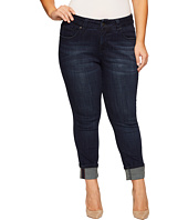 Jag Jeans Plus Size - Plus Size Maddie Skinny Cuff Crosshatch Denim in Night Breeze
