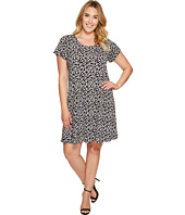 Karen Kane Plus - Plus Size Print Maggie Trapeze Dress