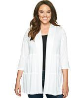 Karen Kane Plus - Plus Size Tiered Jacket