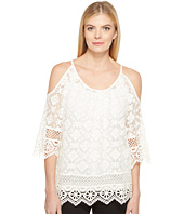 Karen Kane - Cold Shoulder Lace Top