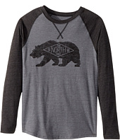 The North Face Kids - Long Sleeve Bearitage Baseball Tee (Little Kids/Big Kids)