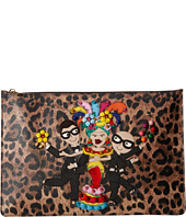 Dolce & Gabbana - DG Family Embroidered/Studded Pouch