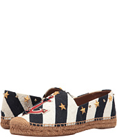 Dolce & Gabbana - Brocade Espadrille with Anchor/Star