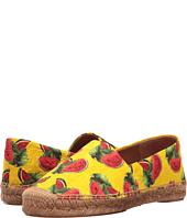 Dolce & Gabbana - Brocade Watermelon Print Espadrille