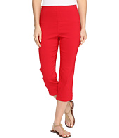 FDJ French Dressing Jeans - Techno Slim Pull-On Capris in Red