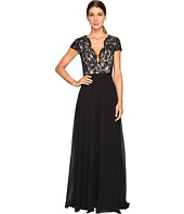 Aidan Mattox - Lace and Chiffon Gown