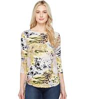 FDJ French Dressing Jeans - Chameleon Print Top