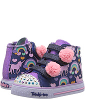 SKECHERS KIDS - Twinkle Toes - Shuffles 10813N Lights (Toddler/Little Kid)