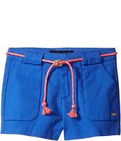 Tommy Hilfiger Kids - Woven Shorts with Belt (Little Kids)