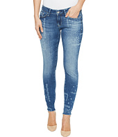 Mavi Jeans - Serena Low Rise Ankle Skinny in Flower Laser