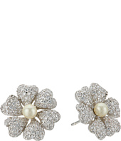 Nina - Pluma Pearl Flower Earrings