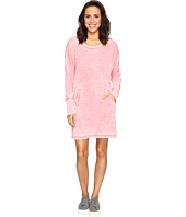 Allen Allen - Long Sleeve Dolman Two-Pocket Dress