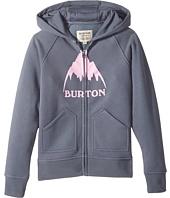 Burton Kids - Stamped Mountain Full Zip Hoodie (Big Kids)