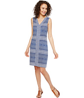 Tommy Bahama - Greek Grid Short Sleeveless Dress