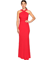 Badgley Mischka - Jersey Pull Through Gown