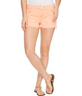 Hudson - Kenzie Cut Off Five-Pocket Shorts in Luminous Orange