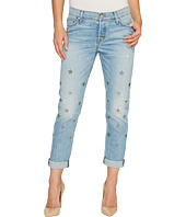 Hudson - Riley Relaxed Straight Five-Pocket Jeans in Big Shot