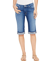 Hudson - Amelia Cuffed Knee Five-Pocket Shorts in Take A Walk