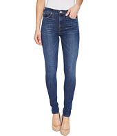 Hudson - Barbara High Waist Super Skinny Ankle Five-Pocket Jeans in Dream On