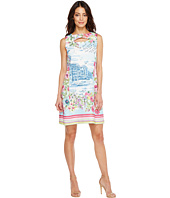 Christin Michaels - Naomi Sleeveless Dress with Open Neck